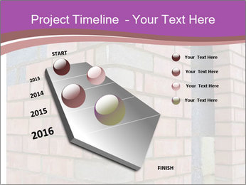 Red Brick Wall PowerPoint Template - Slide 26