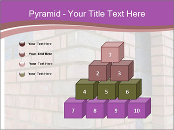 Red Brick Wall PowerPoint Template - Slide 31