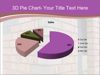 Red Brick Wall PowerPoint Template - Slide 35