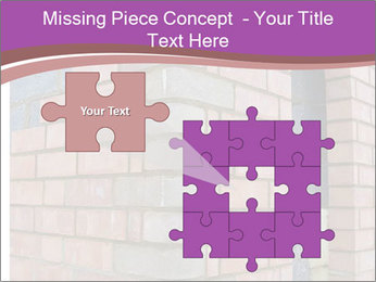Red Brick Wall PowerPoint Template - Slide 45