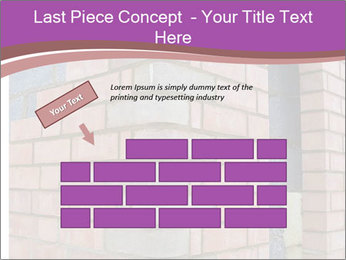 Red Brick Wall PowerPoint Template - Slide 46