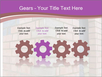 Red Brick Wall PowerPoint Template - Slide 48