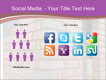 Red Brick Wall PowerPoint Template - Slide 5