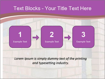 Red Brick Wall PowerPoint Template - Slide 71