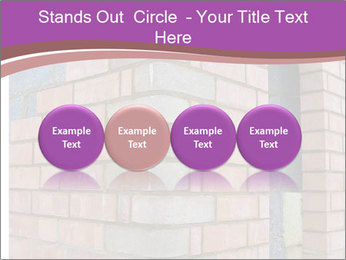 Red Brick Wall PowerPoint Template - Slide 76