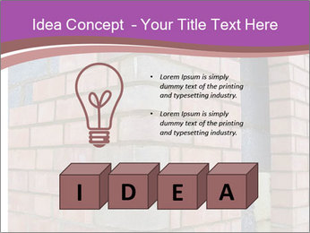 Red Brick Wall PowerPoint Template - Slide 80
