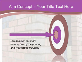 Red Brick Wall PowerPoint Template - Slide 83