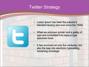 Red Brick Wall PowerPoint Template - Slide 9