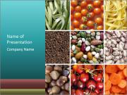 Organic Food Concept PowerPoint Templates