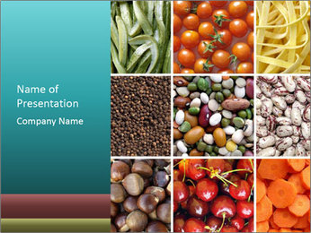 Organic Food Concept PowerPoint Template - Slide 1