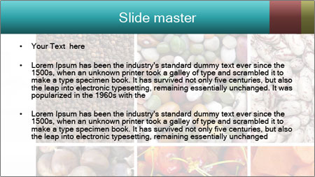 Organic Food Concept PowerPoint Template - Slide 2