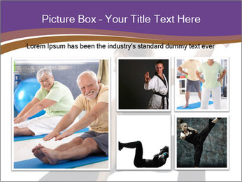 Female Martial Artist PowerPoint Template - Slide 19