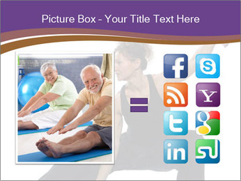 Female Martial Artist PowerPoint Template - Slide 21