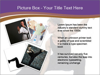 Female Martial Artist PowerPoint Template - Slide 23