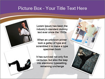 Female Martial Artist PowerPoint Templates - Slide 24