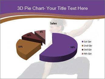 Female Martial Artist PowerPoint Template - Slide 35