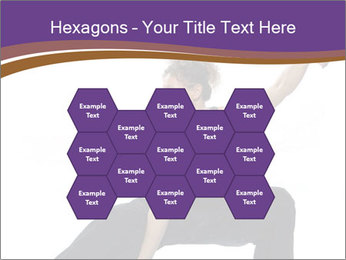 Female Martial Artist PowerPoint Template - Slide 44