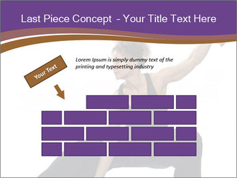 Female Martial Artist PowerPoint Template - Slide 46