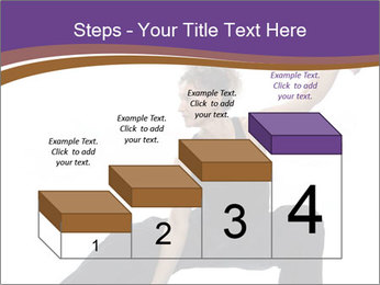 Female Martial Artist PowerPoint Template - Slide 64