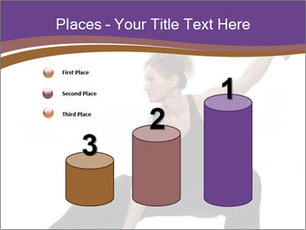Female Martial Artist PowerPoint Template - Slide 65