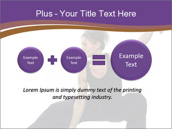 Female Martial Artist PowerPoint Template - Slide 75
