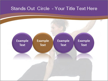 Female Martial Artist PowerPoint Template - Slide 76