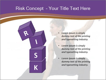 Female Martial Artist PowerPoint Template - Slide 81