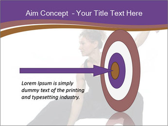 Female Martial Artist PowerPoint Template - Slide 83