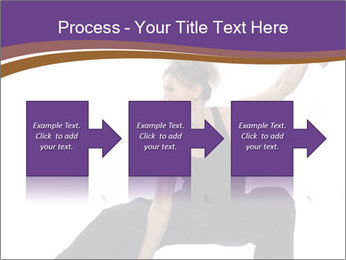 Female Martial Artist PowerPoint Template - Slide 88
