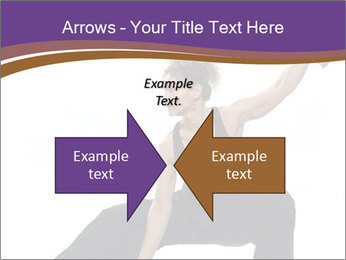 Female Martial Artist PowerPoint Template - Slide 90