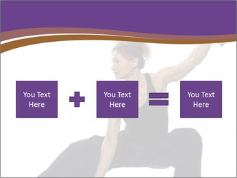 Female Martial Artist PowerPoint Template - Slide 95