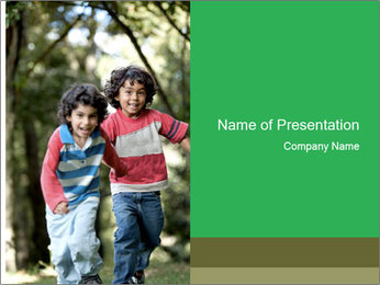 Brothers Outdoors PowerPoint Template