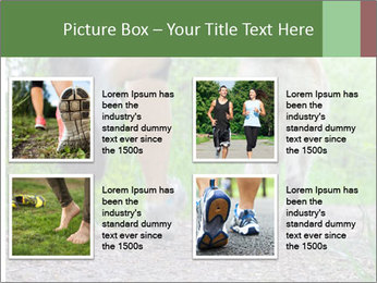 Jogging With Dog PowerPoint Template - Slide 14