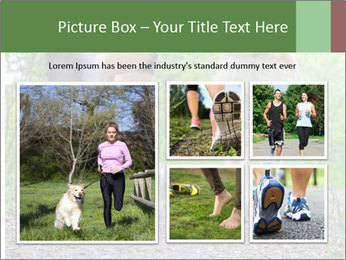 Jogging With Dog PowerPoint Templates - Slide 19