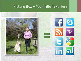 Jogging With Dog PowerPoint Templates - Slide 21