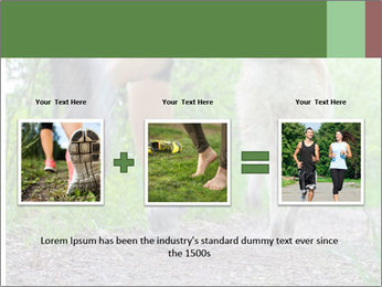 Jogging With Dog PowerPoint Template - Slide 22