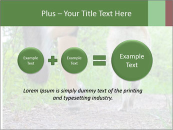 Jogging With Dog PowerPoint Templates - Slide 75
