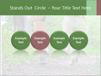 Jogging With Dog PowerPoint Template - Slide 76