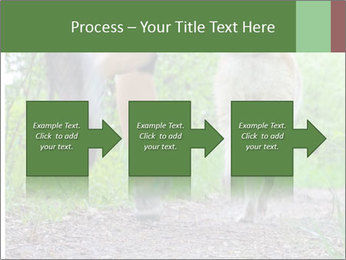 Jogging With Dog PowerPoint Templates - Slide 88