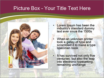Walk With Friends PowerPoint Templates - Slide 13