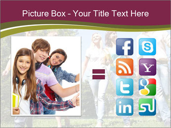 Walk With Friends PowerPoint Templates - Slide 21
