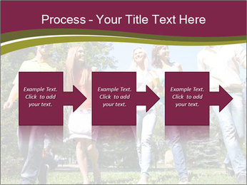 Walk With Friends PowerPoint Templates - Slide 88