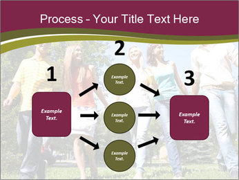 Walk With Friends PowerPoint Templates - Slide 92