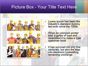 Construction Team Collage PowerPoint Template - Slide 13