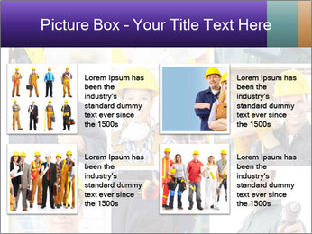 Construction Team Collage PowerPoint Template - Slide 14