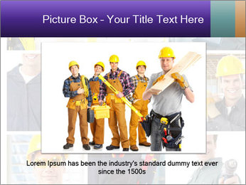 Construction Team Collage PowerPoint Template - Slide 15