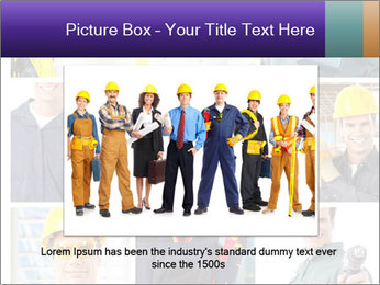 Construction Team Collage PowerPoint Template - Slide 16