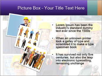 Construction Team Collage PowerPoint Template - Slide 17