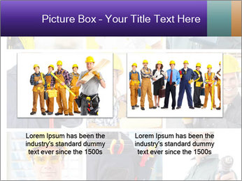 Construction Team Collage PowerPoint Templates - Slide 18