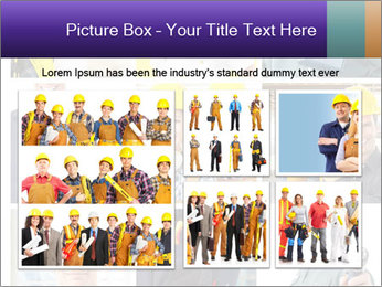Construction Team Collage PowerPoint Template - Slide 19